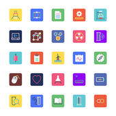 Science and Technology Colored Vector Icons 3