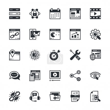SEO and Marketing Colored Vector Icons 2