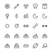 User Interface Colored Line Vector Icons 28