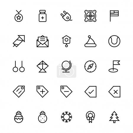 User Interface Colored Line Vector Icons 48