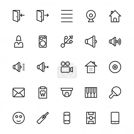 User Interface Colored Line Vector Icons 50