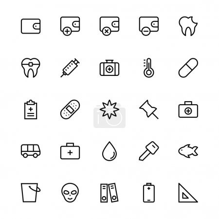 User Interface Colored Line Vector Icons 53