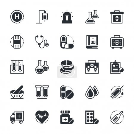 Medical and Health Vector Icons 1
