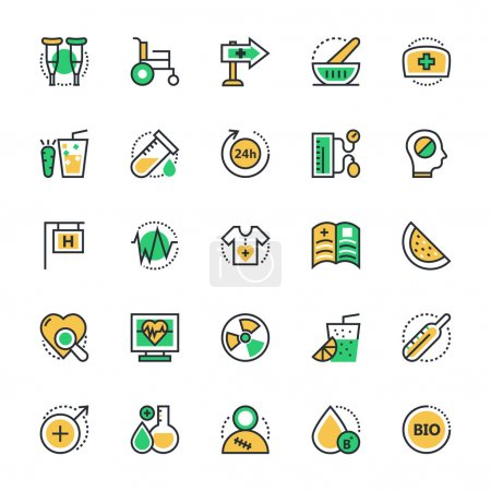 Medical and Health Vector Icons 4