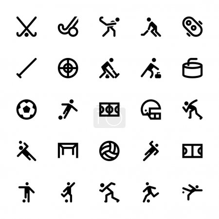 Sports and Games Vector Icons 10