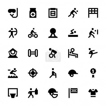 Sports and Games Vector Icons 3