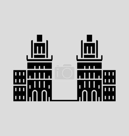 Minsk  Vector Illustration