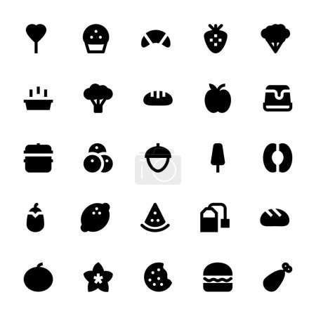 Food and Drinks Vector Icons 6