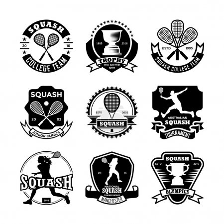 Squash Vector Icons 31