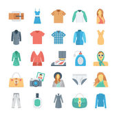 Fashion and Clothes Vector Icons 6