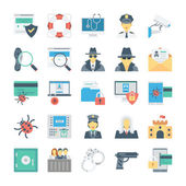 Crime and Security Vector Icons 1