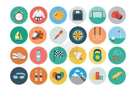 Sports Flat Icons - Vol 2