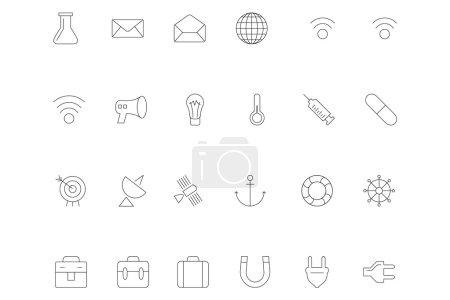 Line icons 10