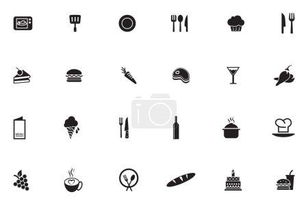 Lebensmittel-Vektor-Symbole 2