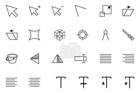 Art Design and Development Vector Icons 4