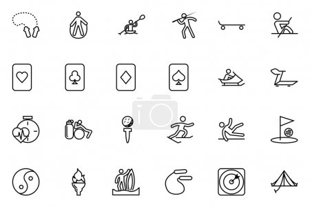 Sports Vector Line Icons 5