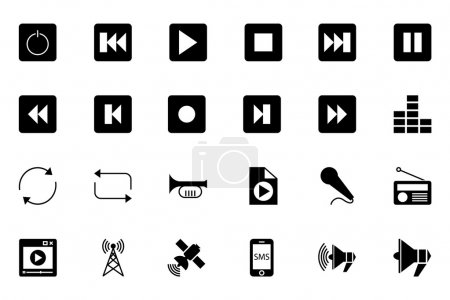 Media and Advertisement Vector Icons 2