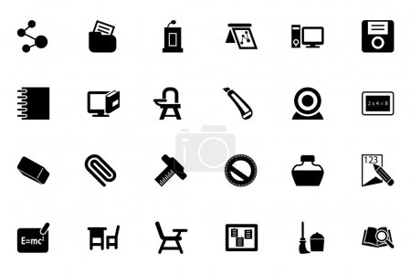 School and Education Vector Icons 4