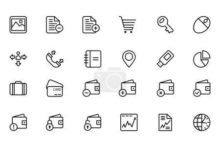 Finance Line Icons 5
