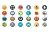 Education Vector Flat Icons 1
