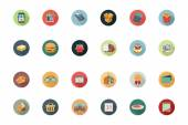 Shopping Flat Colored Icons 1