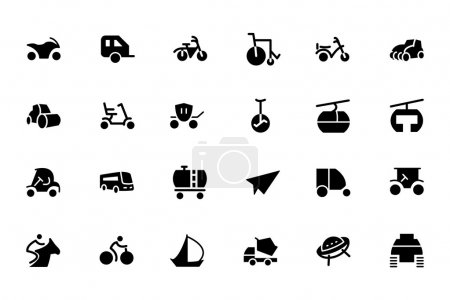 Transport Vector Icons 4