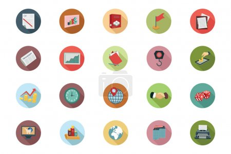 Illustration for Get for your next business designs! You can use this business icons pack any way you like, the set will pretty fit to the business website or personal blog! - Royalty Free Image
