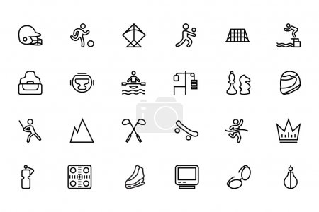 Sports Vector Line Icons 6