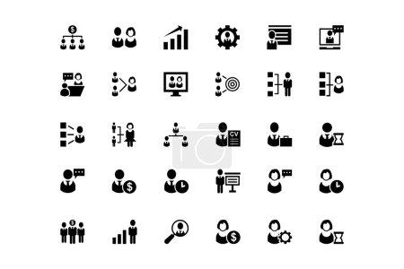 Human Resource Vector Icons 1