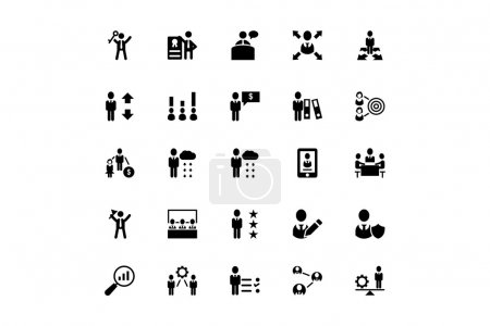 Human Resource Vector Icons 4