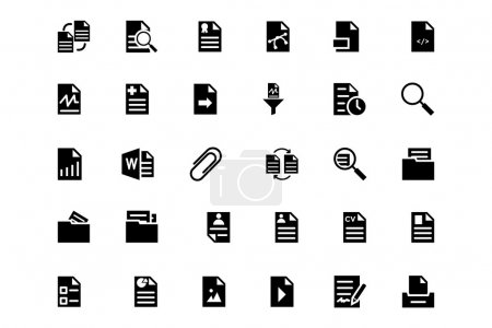 Documents Vector Icons 3