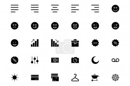 Universal Mobile Vector Icons 3