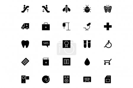 Universal Mobile Vector Icons 17