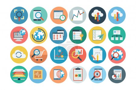 Universal Web Flat Colored Icons 2