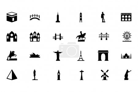 Monuments Vector Icons 1