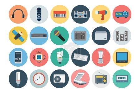 Electronics Flat Icons 3