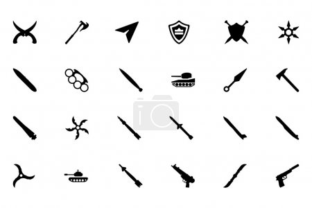Weapons Vector Icons 5