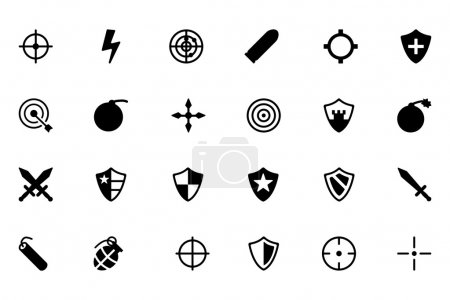 Weapons Vector Icons 1
