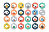 Cloud Computing Flat Vector Icons 4