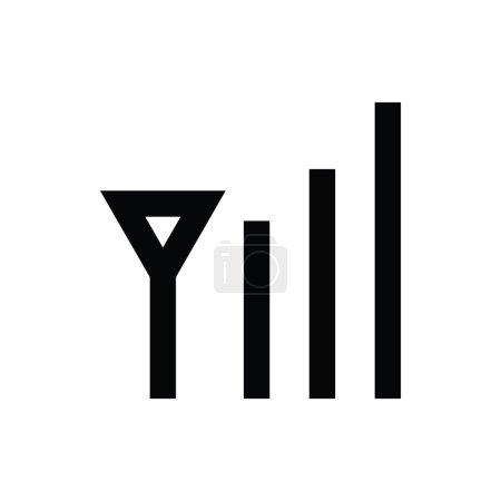 Internet Signals Vector Icon