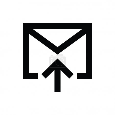 Email Sending Vector Icon