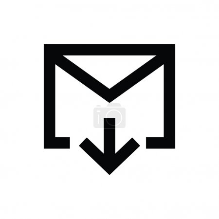 Email Inbox Vector Icon