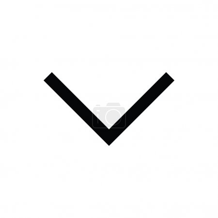 Down Arrow Vector Icon