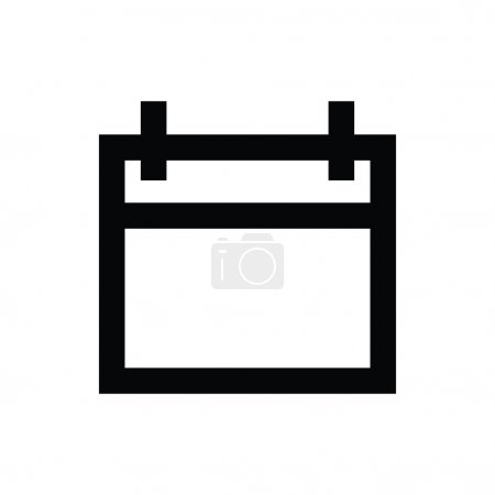 Illustration for Bold Vector Line Icon. - Royalty Free Image