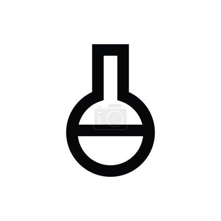 Volumetric Flask Vector Icon