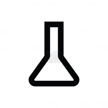 Lab Flask Vector Icon