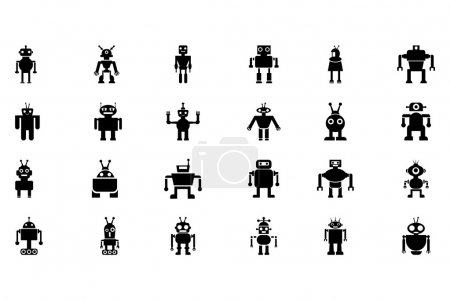 Robots Vector Icons 2