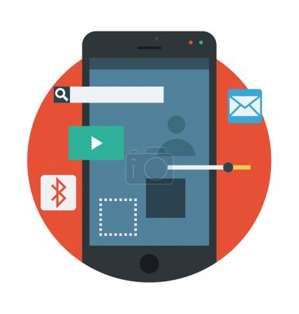Mobile Apps Vector Icon