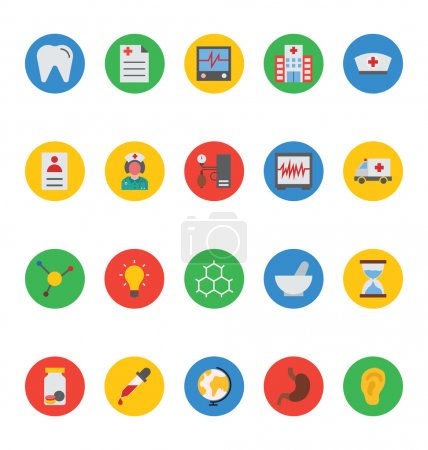 Medical Vector Icons 4