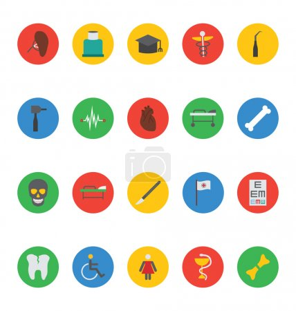 Medical Vector Icons 6